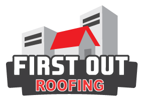 first out roofing tx logo
